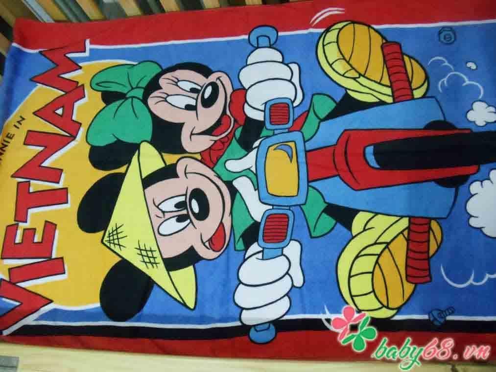Picture of Khăn tắm hình chuột Mickey dễ thương