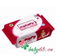 Picture of Giấy ướt Mamamy túi bổ sung màu hồng (80 tờ )