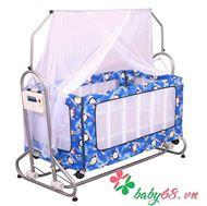 Picture of Nôi cũi giường trẻ em 2 trong 1 hai tầng Autoru (4 sao )