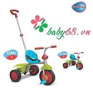 Picture of Xe ba bánh Fun 2 in 1 màu xanh lá Smart-Trike