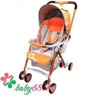 Picture of Xe đẩy Lucky Baby Smart S2 - Cam