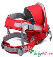Picture of Địu em bé 6 tư thế Baby Carrier CA5001 màu đỏ