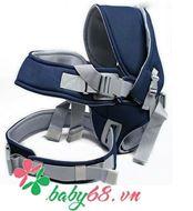 Picture of Địu em bé 6 tư thế Baby Carrier CA5001 màu xanh