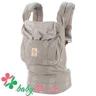Picture of Địu em bé Organic Baby Carrier màu trắng xám