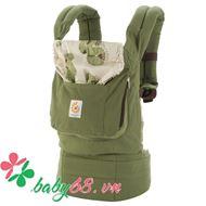 Picture of Địu em bé Organic Baby Carrier màu xanh rêu