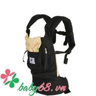 Picture of Địu em bé Organic Baby Carrier màu đen