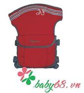 Picture of Địu em bé 4 vị trí Naforye N99137 màu đỏ