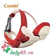 Picture of Địu Combi 4 cách Premium breezing màu đỏ