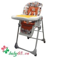 Picture of Ghế ăn bột Tea Time Lucky Baby 501221 cam
