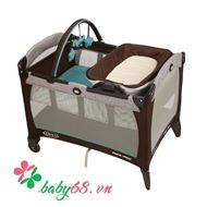 Picture of Giường cũi Graco PNP Reversible Napper & Changer Soho Square 1812041
