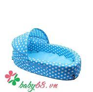 Picture of Nôi ngủ di động Tiny Bebi màu xanh