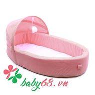 Picture of Nôi ngủ di động Tiny Bebi màu hồng cam