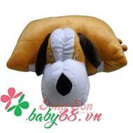 Picture of Gối xe 1 đầu hình chó con