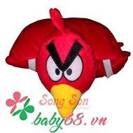 Picture of Gối xe 1 đầu hình angry birds đỏ