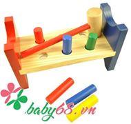 Picture of Đồ chơi gỗ búa đập cọc Winwintoys