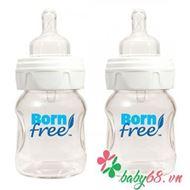 Picture of Bình sữa trẻ em thuỷ tinh Born Free 160ml