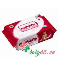 Show details for Giấy ướt Mamamy túi bổ sung màu hồng (80 tờ )