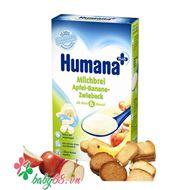 Picture of Bột sữa dinh dưỡng ăn dặm Humana Táo - Chuối - Bánh Bít cốt (250g)