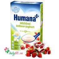 Picture of Bột sữa dinh dưỡng ăn dặm Humana Dâu tây - Sữa chua (250g)