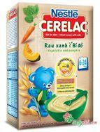 Picture of Bột ăn dặm Nestle rau xanh và bí đỏ