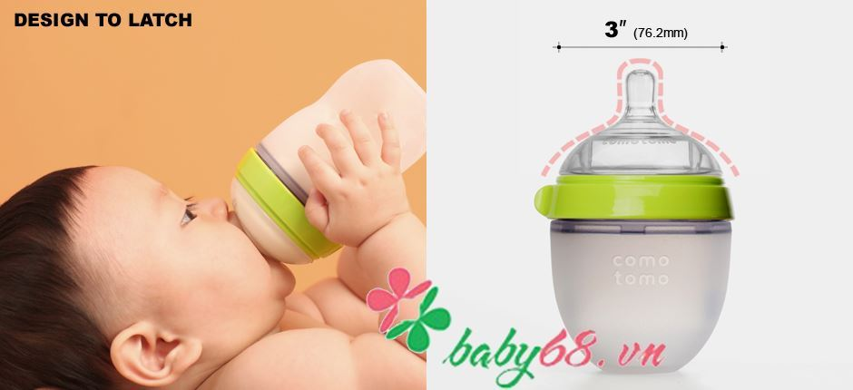 Picture of Bình sữa Comotomo 150ml siêu mềm
