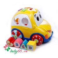 Picture of Đồ chơi ô tô thả hình khối Winfun 0659