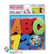 Picture of Bộ chữ số bắng xốp Munchkin - MK11020