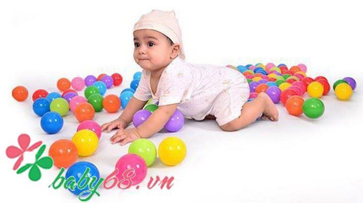 Picture of Nhà banh thu nhỏ ngộ nghĩnh + 50 trái banh lớn cho bé