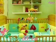 Picture of Fullset quây chăn ga gối Pigo 018