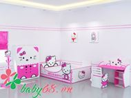 Picture of Giường trẻ em Hello Kitty GD05