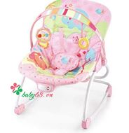 Picture of Ghế rung Mastela Rocker Animais Rosa 6903