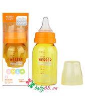 Picture of Bình sữa Nano Silver Wesser 140ml (cổ hẹp, kháng khuẩn)