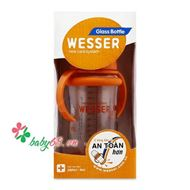 Picture of Bình sữa thủy tinh Wesser 260ml