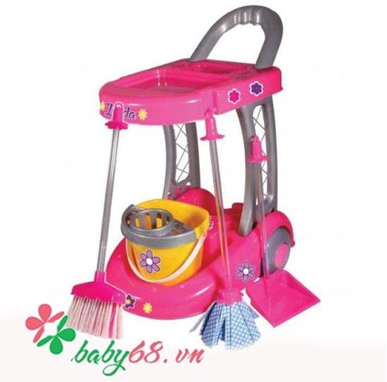 Picture of Bộ đồ chơi dụng cụ quét dọn nhà cửa Linda -Furkan
