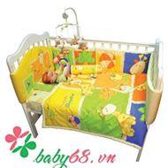 Picture of Ra trải giường, vây nệm, mền và gối bé Lucky Baby 621820