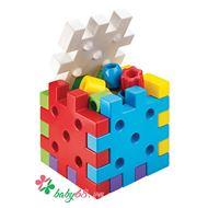 Picture of Đồ chơi Quercetti-Italy - Xếp khối nhựa Qubo 4045