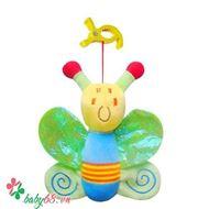 Picture of Đồ chơi bông mềm treo cũi, xe đẩy, ô tô, hình bướm - TO26V51