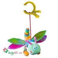 Picture of Đồ chơi bông mềm treo cũi, xe đẩy, ô tô, hình chuồn chuồn - TO26V61