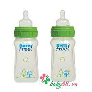 Picture of Bộ 2 bình sữa nhựa PP Born Free BF00170 - 260ml