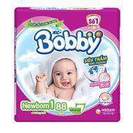 Picture of Tã giấy Bobby Newborn 1 (88 miếng)