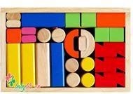 Picture of Đồ chơi gỗ bộ xếp lâu đài winwintoys 66152