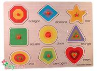 Picture of Bảng ghép hình có núm VDN01 - Các loại hình khối