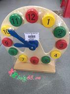 Picture of Đồng hồ lắp ghép số học