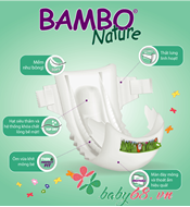 Picture of Tã dán Bambo Nature Mini 2 (30 miếng)