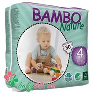 Picture of Tã dán Bambo Nature Maxi 4 (30 miếng)