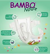 Picture of Tã dán Bambo Nature Junior 5 (54 miếng)