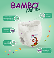 Picture of Tã dán Bambo Nature Junior 6 (18 miếng)