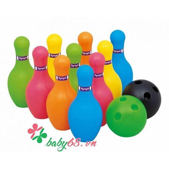 Picture of Bộ đồ chơi Bowling mini Toyroyal 7514