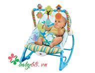Picture of Ghế rung Konig Kids có nhạc và đồ chơi KK63562