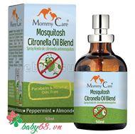 Picture of Dầu xoa chống và trị muỗi đốt tự nhiên-hữu cơ cho em bé (Mommy Care Mosquitosh- Natural Insect Repellent)